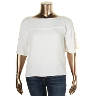 Calvin Klein Womens Blouse Hi-Low Crepe (4 options available)