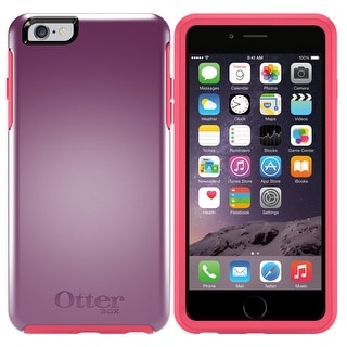 OtterBox Symmetry Series Drop Protection iPhone 6 Plus 6s Plus Case Purple Pink