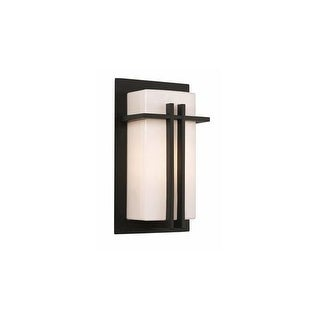 Trans Globe Lighting 40280 Crossed Cathedral 1 Light Outdoor Wall Sconce