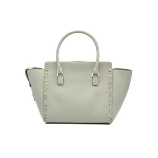 Valentino Garavani Rockstud Small Tote Light Green Shoulder Bag