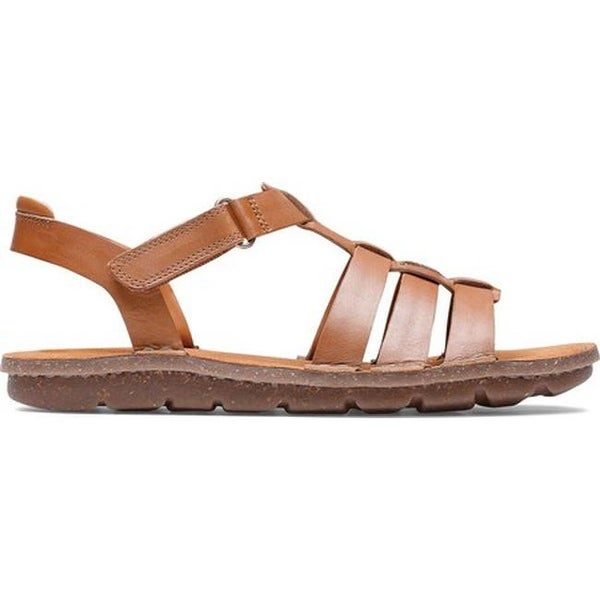 Clarks Blake Jewel Leather Sandal Slippers