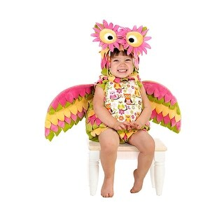 Hootie The Owl Toddler Costume - Pink
