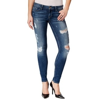 Guess Womens Skinny Jeans Destroyed Ripped - 24