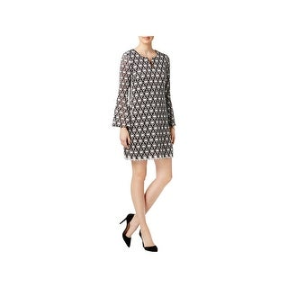 Signature By Robbie Bee Womens Petites Cocktail Dress Lace Party