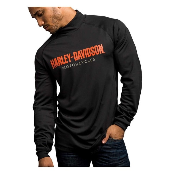 de0a0adf67f3 Shop Harley-Davidson Men's Turn To Victory Performance Mock Neck Shirt  5P34-HB4L - Free Shipping On Orders Over $45 - Overstock - 20165119