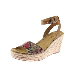 Naturalizer Womens Note Wedge Sandals Patent