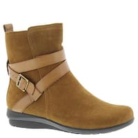 ARRAY Womens Brandy Leather Closed Toe Ankle Fashion Boots