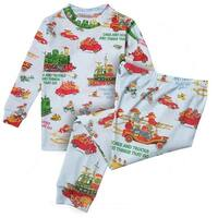 Books to Bed Children's Richard Scarry's Cars & Trucks & Things That Go Pajamas
