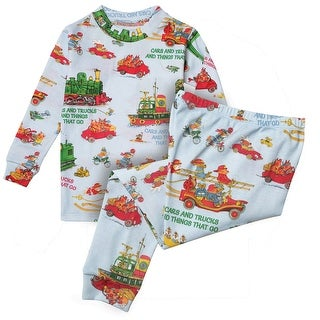 Books to Bed Children's Cars & Trucks & Things That Go Pajamas PJs Jammies