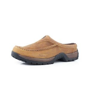 Roper Western Shoes Mens Stirrup Slip On Tan Oiled 09-020-1650-1560 TA|https://ak1.ostkcdn.com/images/products/is/images/direct/022f35dff29d728d76a09e0d9da0306223f85fe0/Roper-Western-Shoes-Mens-Stirrup-Slip-On-Tan-Oiled-09-020-1650-1560-TA.jpg?impolicy=medium