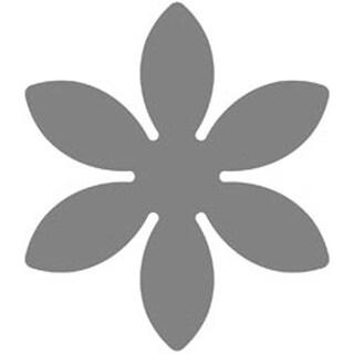 """Flower; 1"""" - Medium Lever Punch Fiskars"""