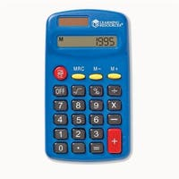 Learning Resources LER0037BN Primary Calculator - Pack of 3