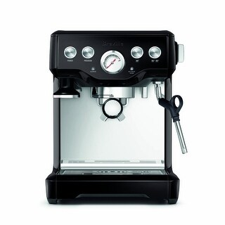 Breville BES840BSXL The Infuser Espresso Machine (Black Sesame)