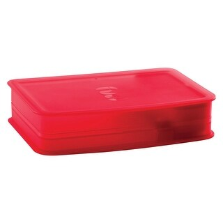 Trudeau 03017012 Breakfast On The Go Bento Box, Red, 20 Oz