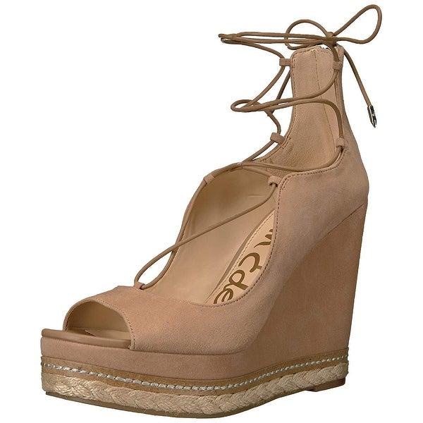b9460afce Shop Sam Edelman Women s Harriet-1 Espadrille Wedge Sandal - Free Shipping  Today - Overstock - 25635029