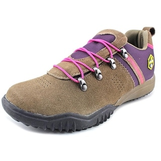 Khombu Maura Women Round Toe Suede Brown Hiking Shoe