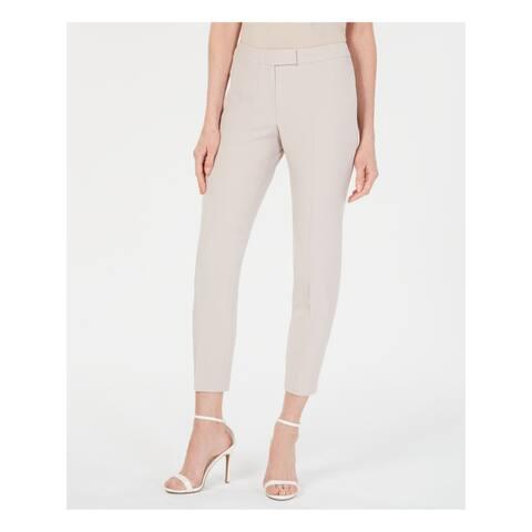 ANNE KLEIN Womens Beige Skinny Pants Size 0