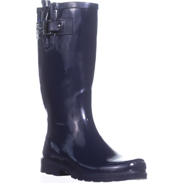 Nautica Finsburt Knee High Rain Boots, Navy