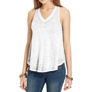 Free People Womens Tank Top Burnout Sleeveless