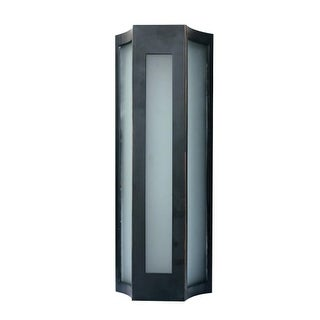 "PLC Lighting 31770 Derby Single Light 12"" High Integrated LED Outdoor Wall Sconc (2 options available)"