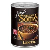 Amy's Organic Lentil Soup - Case of 12 - 14.5 oz