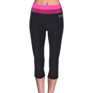 Bebe Womens Capri Pants Yoga Fitness