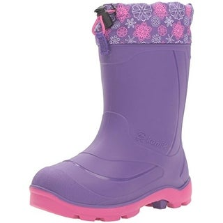 Kamik Girls Snobuster2 Snow Boots Waterproof - 6 medium (b,m)