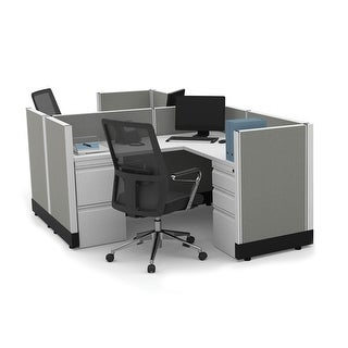 Link to System Furniture 39H 2pack Cluster Powered Similar Items in Desks & Computer Tables
