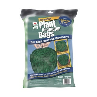 "Easy Gardener 40200 Plant Protection Bags, 40"" x 45"", 2/Pack"