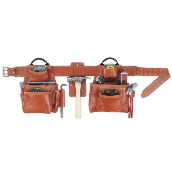 CLC 21448 Pro Framer's Combo Tool Belt, Large, 17 Pockets
