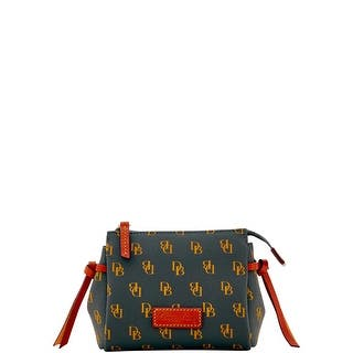 Dooney & Bourke Gretta Cosmetic Case (Introduced by Dooney & Bourke at $58 in Sep 2017) - charcoal|https://ak1.ostkcdn.com/images/products/is/images/direct/023a903003f8983ee7c9d00444bd144fc87b5e91/Dooney-%26-Bourke-Gretta-Cosmetic-Case-%28Introduced-by-Dooney-%26-Bourke-at-%2458-in-Sep-2017%29.jpg?impolicy=medium