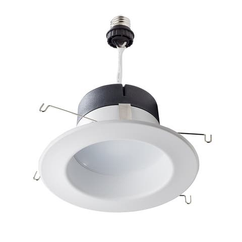 Philips 65 Watt Equivalent 5-6 in. 5000K LED Dimmable Downlight - Daylight - White - 4.8 x 5 x 5