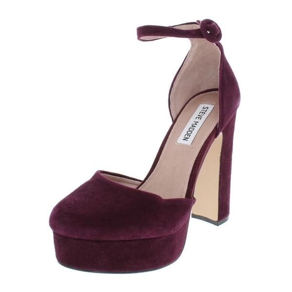 e2ffd302bcc Shop Steve Madden Womens Cordial Heels Suede D Orsay - 6.5 Medium (B ...