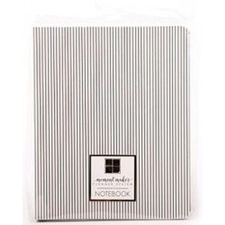 Chipboard Cover W/Pinstripes -DCWV Moment Maker Planner System Designer Notebook