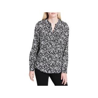 aa195b2381cd Calvin Klein Womens Plus Box Top Metallic Button-Shoulder · Quick View