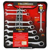Gearwrench 120358 Standard Ratcheting Wrench Set, 8-Piece