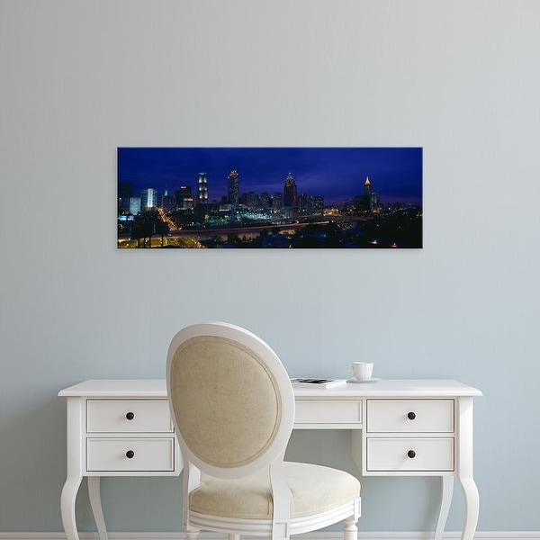 Easy Art Prints Panoramic Images's 'Atlanta Skyline (After Olympics), Georgia' Premium Canvas Art
