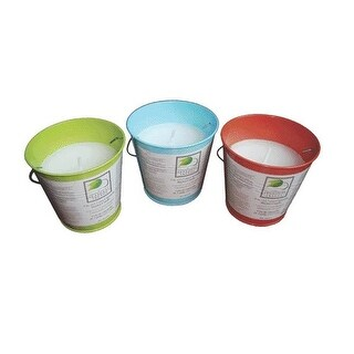 Bond Y1088 Bucket Candle, Assorted Colors