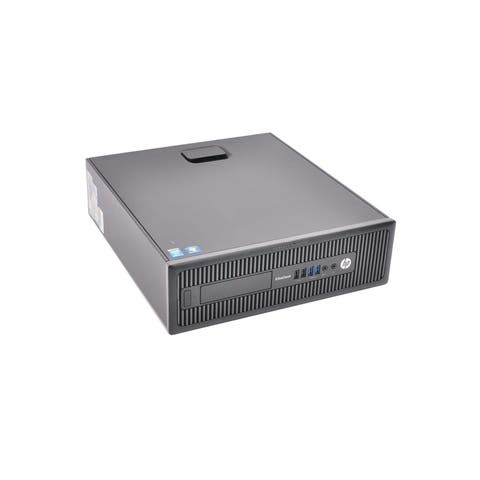 HP Elitedesk 800 G1 SFF Refurbished PC - Intel Core i5 4570 4th Gen 3.2 GHz 8GB 1TB HDD DVD-ROM Windows 10 Pro 64-Bit - Wifi