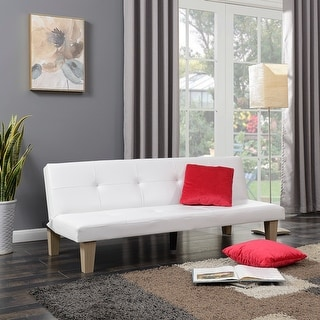 Shop Belleze Convertible Futon Folding Sofa W 2 Pillow