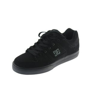 DC Mens Pure Skate Shoes Leather Lace-Up