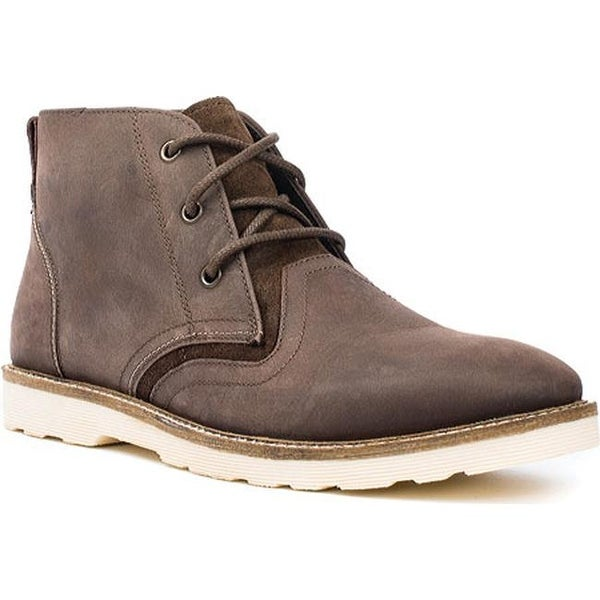efcd5c1b474 Crevo Men's Cray Chukka Boot Brown Leather/Suede