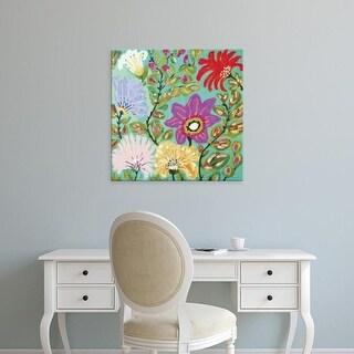 Easy Art Prints Karen Fields's 'Liberty Garden' Premium Canvas Art