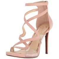 Jessica Simpson Womens roelyn Leather Open Toe Formal Strappy Sandals