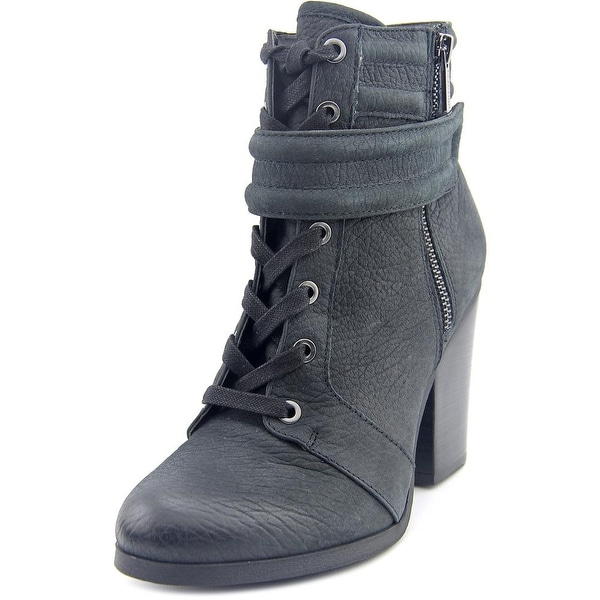 Kenneth Cole Reaction Might Rocket Women Round Toe Leather Ankle Boot