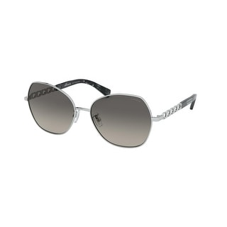 Link to Coach HC7112 900111 56 Silver Woman Irregular Sunglasses Similar Items in Women's Sunglasses