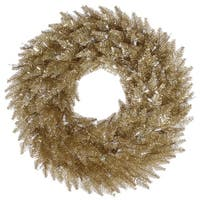 "36"" Champagne Fir Wreath 320T"