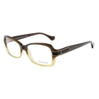 Balenciaga BA5005/V 050 Brown Gradient Yellow Rectangular Opticals - 53-15-135