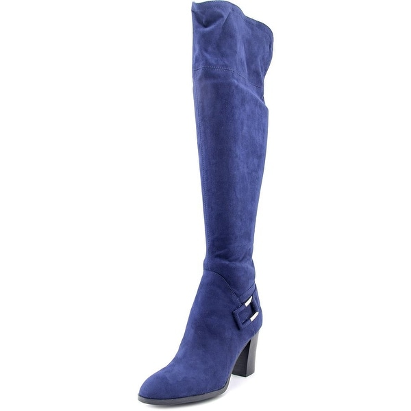 Marc Fisher Christyna Women Dark Blue Boots