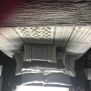 INK+IVY Imani Ivory Cotton 3-piece Duvet Cover Set